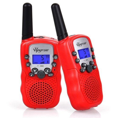 Upgrow Walkie Talkies 8 Channel 2 Way Radio Kids Toys Wireless 0.5W PMR446 Long Distance Range Walkie Talkie for Field Survival Biking and Hiking...