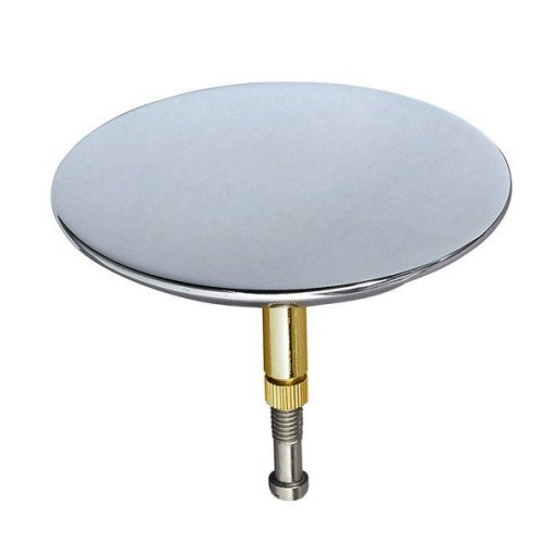Bath Drain Hole Sink Drainage Blanking Plug Cover Plate Disk Polished