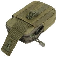 TRIXES Ranger Green Multi-Functional MOLLE Pouch Large Utilities 2 compartment Tactical Pouch