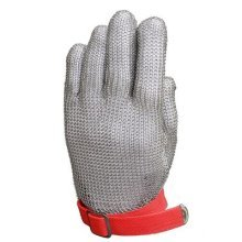 Anself Cut-Resistant Gloves Level 5304Stainless Steel Metal Mesh, Type2, L