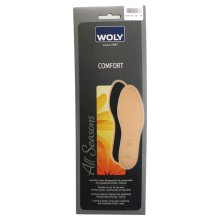 Uk5 Eu38 Woly Unisex Comfort Insoles - Insole Size 5 Absorbs Moisture Cushioned - Woly Comfort Insole Size 5 Absorbs Moisture Cushioned Prevents