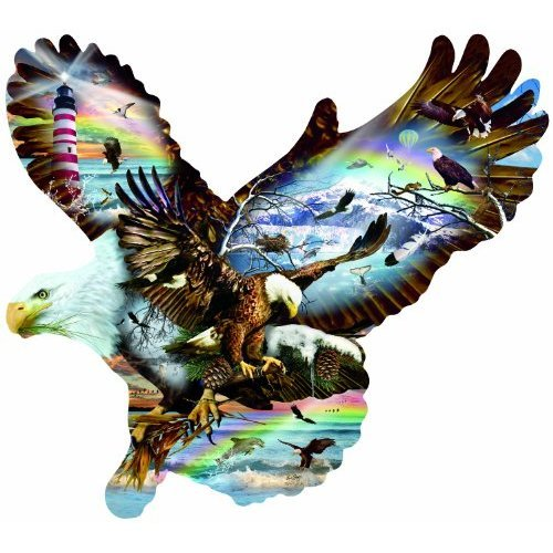 Eagle Eye 1000 pc Jigsaw Puzzle