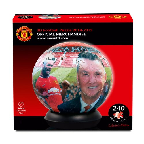 Manchester United 3d Jigsaw Puzzle Ball (500 Pieces)