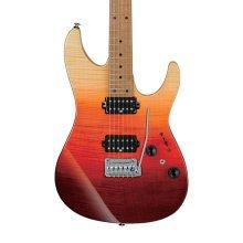 Ibanez AZ242F-TSG AZ Premium Electric Guitar, Tequilla Sunrise Gradation