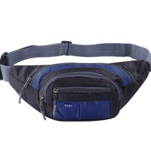 Outdoor Sports Multi-functional Waist Packs for Running Hiking Cycling Camping, Dark Blue 35x15cm