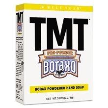 TMT Powdered Hand Soap with Borax, 5-lb. Box, 10/Carton